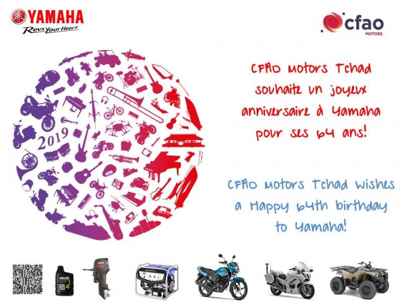 Joyeux Anniversaire Yamaha! #64thYamahaDay