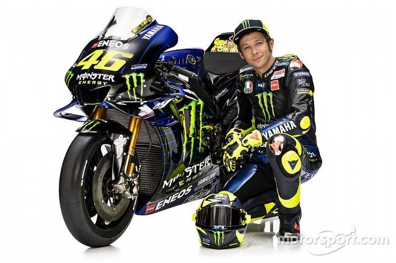 Valentino Rossi et la YZR-M1